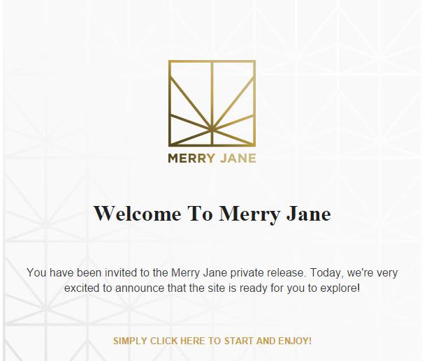 Merry Jane Invite
