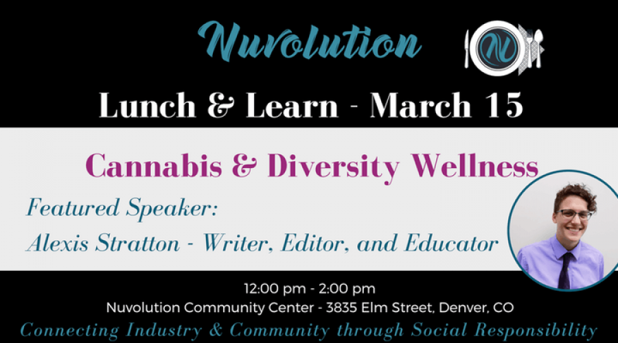 March Nuvolution Lunch & Learn: Diversity in the Cannabis Space