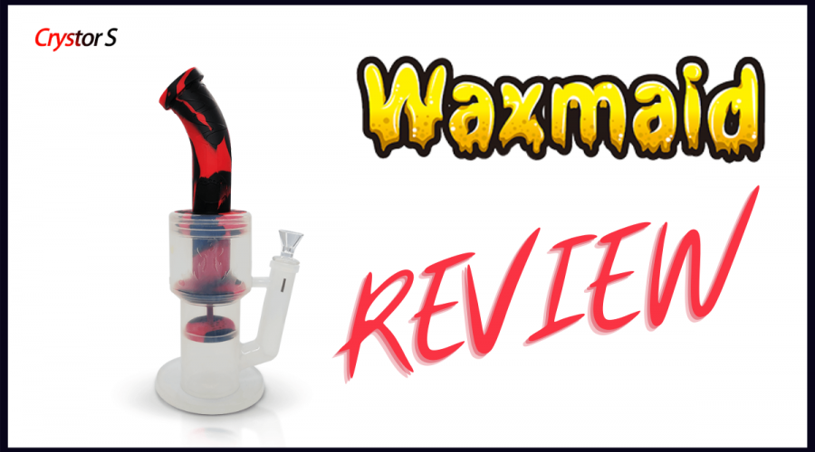 Waxmaid Crystor S Transparent Silicone Water Pipe Review